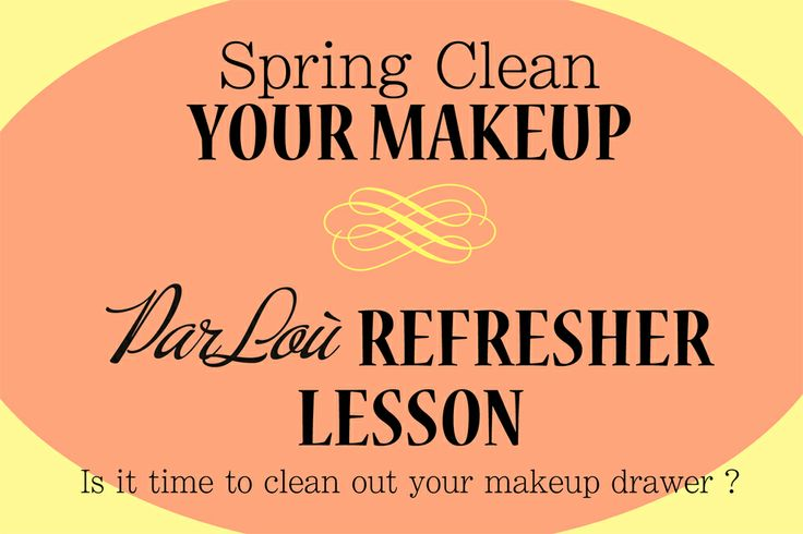 Spring Clean and Refresher Lesson