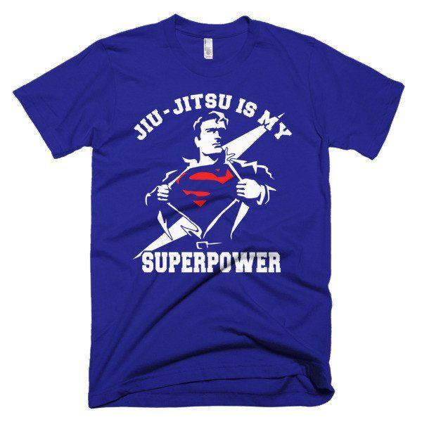 Jiu Jitsu is My SuperPower - Short sleeve men's Jiu Jitsu t-shirt