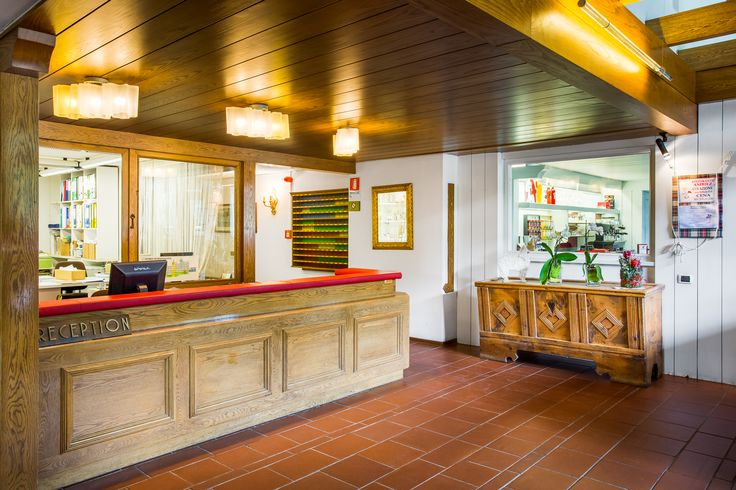Reception @ Residencehotel Ambiez in Madonna di Campiglio (TN). More info at: www.residencehotel.it