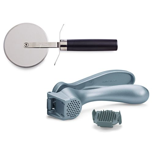 The Pampered Chef® - Pizza Cutter and Garlic Press...