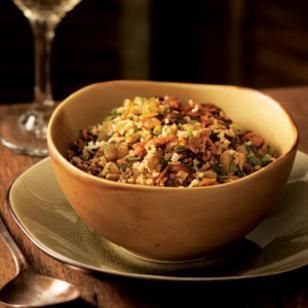 One of the most important dishes at a Turkish table, this simple pilaf recipe features a combination of eggplant and bulgur.   @eatingwell #vegan