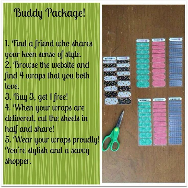 What a great idea! • Jamberry Nail wraps http://jennyfabrizio.jamberrynails.net/