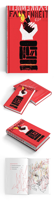 Fahrenheit 451 Re-Covered Books Contest