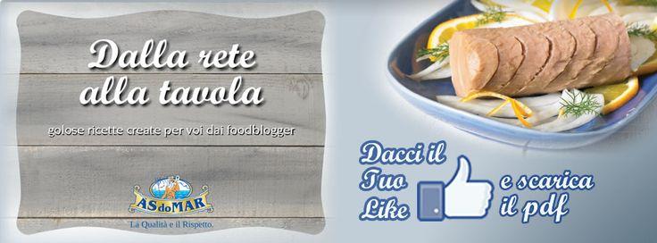 """Scarica gratuitamente il PDF del ricettario ASDOMAR """"Dalla Rete alla Tavola""""  https://www.facebook.com/asdomar/app_208195102528120"""