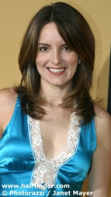 Tina Fey...like the hair