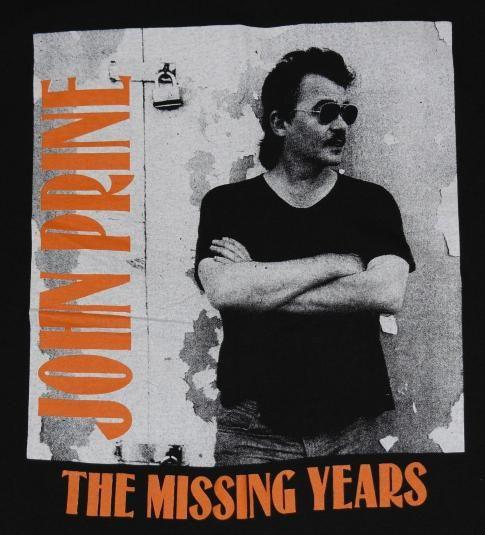 1992 John Prine Tour Shirt Excellent Condition