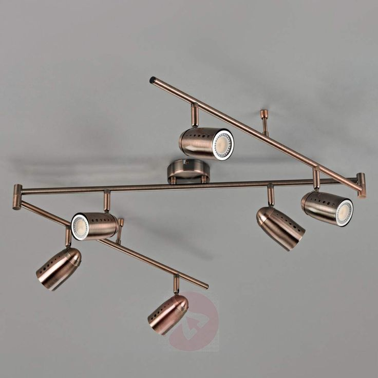Sechsflammiger GU10-LED-Strahler Milane-9620251-30