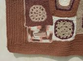 What Should I Do When My Crocheted Blanket Gets Narrow at the Top?: Freeform Crochet Blanket Edging