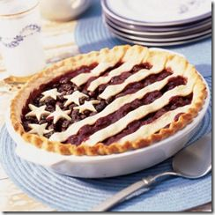 Fourth of July pie recipe + party ideas: Idea, Pies Crusts, Patriots Desserts, Fourth Of July, Pies Recipes, 4Th Of July, Cherries, Independence Day, Memories Day