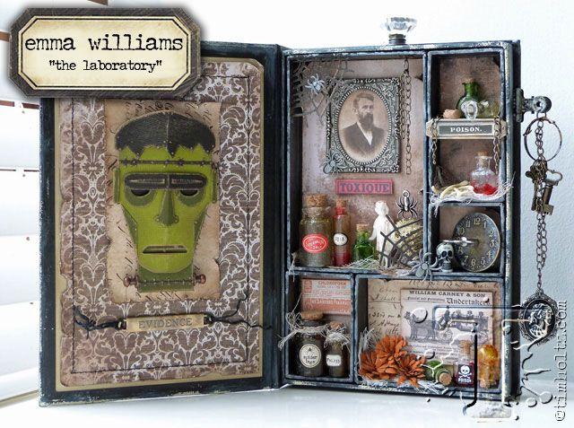 Halloween inspiration series: emma williams… | Tim Holtz | Bloglovin'