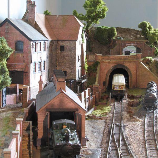 Bear S End 00 Gauge Model Trains Model Train Scenery Model Train Layouts