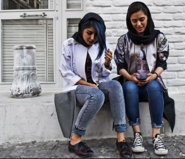 Since the 1979 disorder, which brought an Islamic paperwork to power, women in Iran have had to follow a strict dress code that requires them to wear a headscarf and a jacket (known as a manteau).   #Iranian street style #strict dress