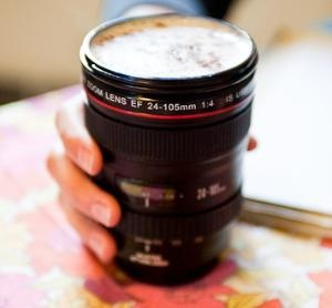 wondering if this might be heavy.: Canon Camera, Coff Mugs, Gifts Ideas, Lens Coffee, Camera Lenses, Coff Cups, Canon Lens, Coffee Mugs, Stainless Steel