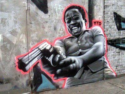Graffiti Street Art by MTO