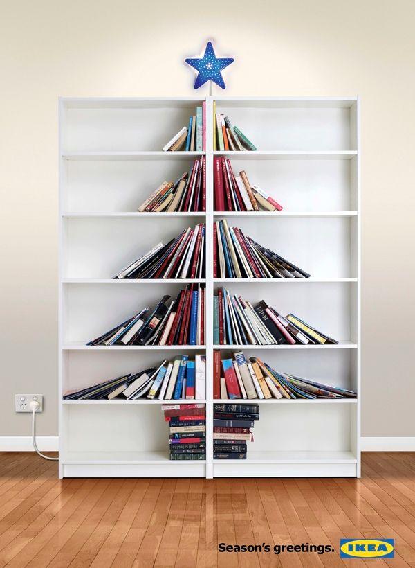 Iconic Ikea! Merry Xmas 2014 print #advertising