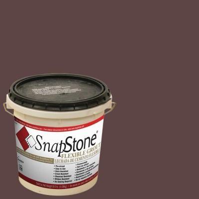 SnapStone Chestnut 9 lb. Pail Urethane Flexible Grout
