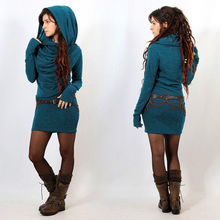 Robe pull mi-saison Yggdrazil
