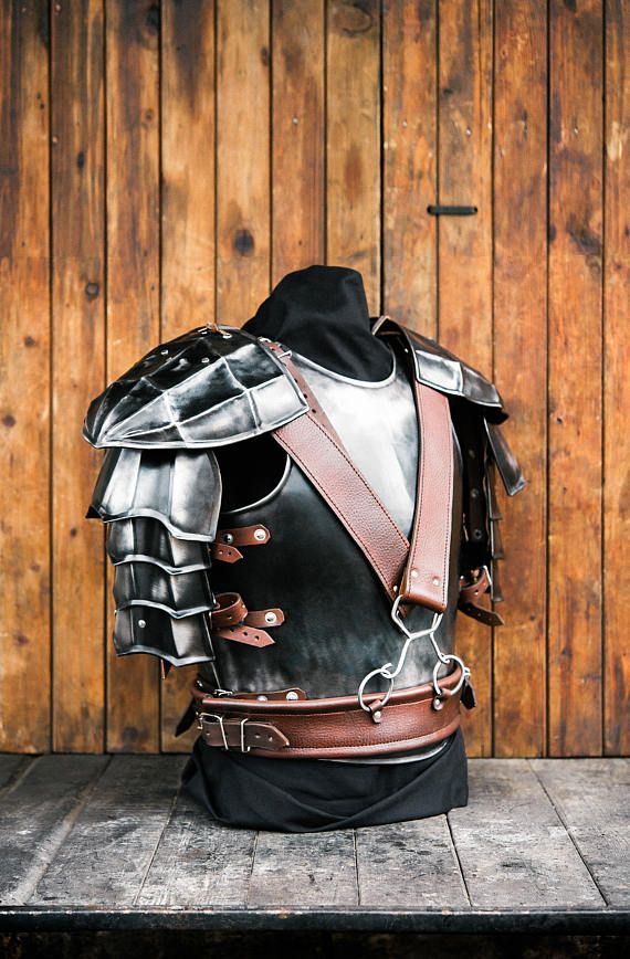 Guts Armor from Berserk Replica Blackened Berserk Pauldrons