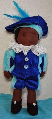 Evelyn's poppen: Zwarte Piet