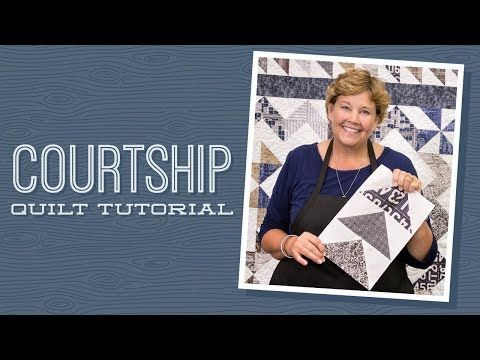 You Won't Believe This Quilt Is Made Entirely Of Half Square Triangles! – Crafty House