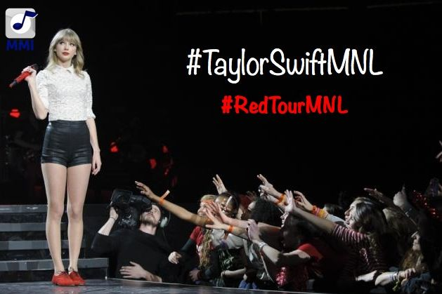 Share the official #HASHTAG PHOTO of #TAYLORSWIFTMNL & #REDTOURMNL
