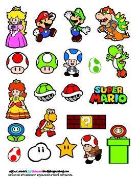 stickers stickers mario mario mario bros