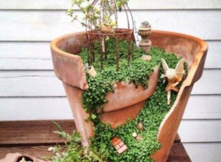 Como Fazer um Jardim de Fadas Passo a Passo | Reciclagem no Meio Ambiente
