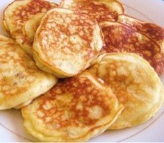 banana pancake without sugar and flour
