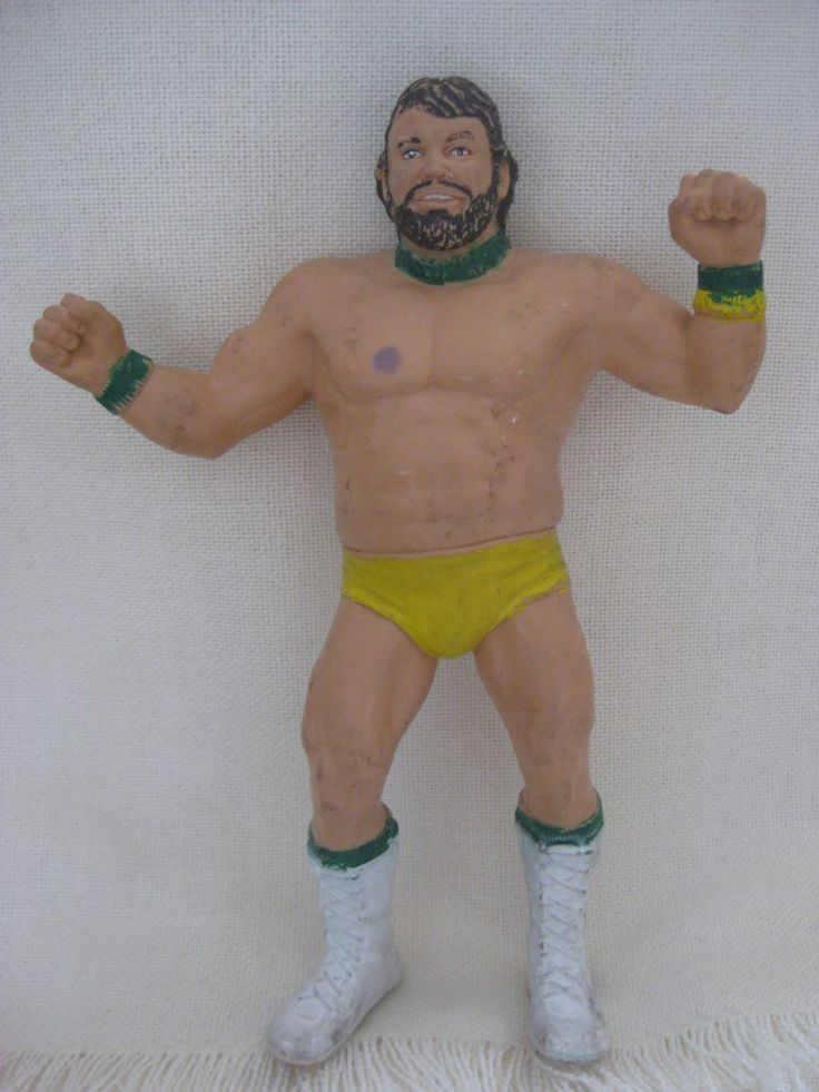 Vintage Billy Jack Haynes Wrestling Superstars Figure by VintageByThePound on Etsy