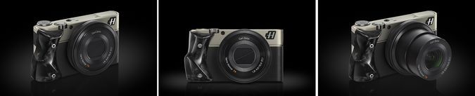 Hasselblad Special Edition Stellar Collection - Black With Carbon - Front, Side, Objective