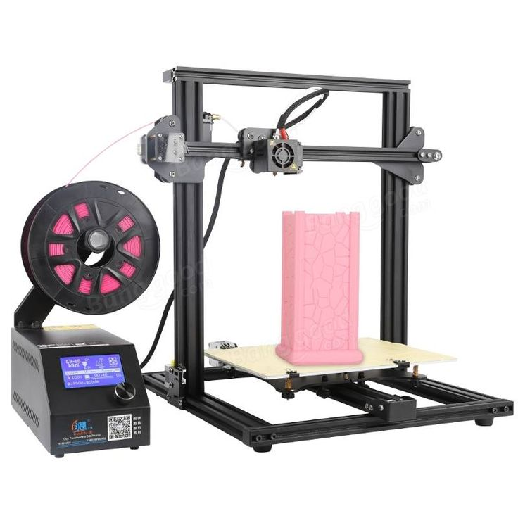 Creality 3D® CR-10 Mini DIY 3D Printer Kit Support Resume Print 300*220*300mm Large Printing Size 1.75mm 0.4mm Nozzle Sale - Banggood.com