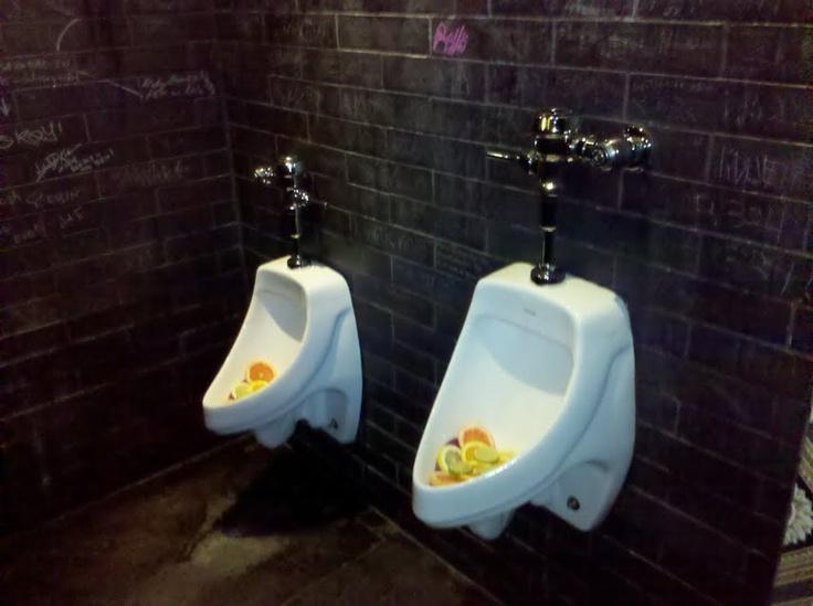 fruity urinals