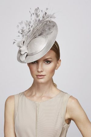 Feather & Bow percher | Juliette Botterill Millinery SS 2014