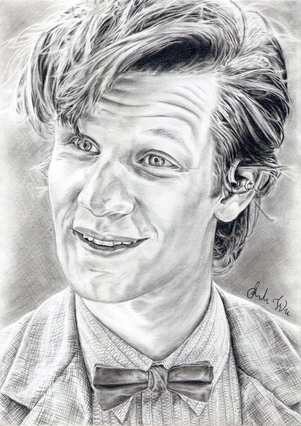 Doctor Who Drawing By Uwardnas