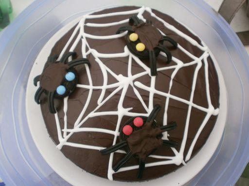 Photo 5 de recette Gâteau aux araignées - Marmiton