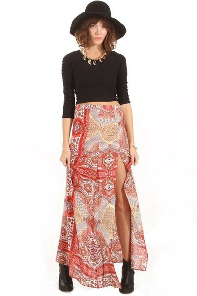 Island resort skirt