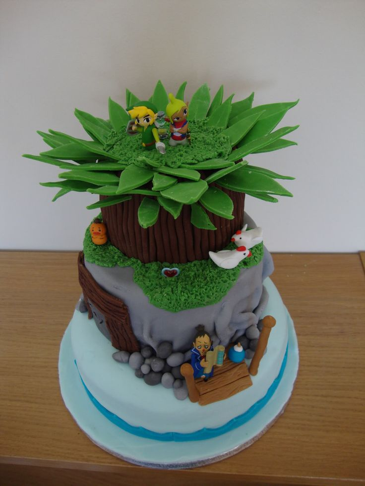 #LegendofZelda #WindWaker cake via Reddit user mouldyscrotum