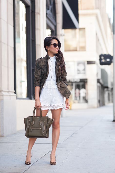 Romper Love :: Camo jacket