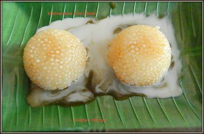 Vietnamese Che Chuoi /Coconut and Sago Pudding#EattheWorld - Sneha's Recipe