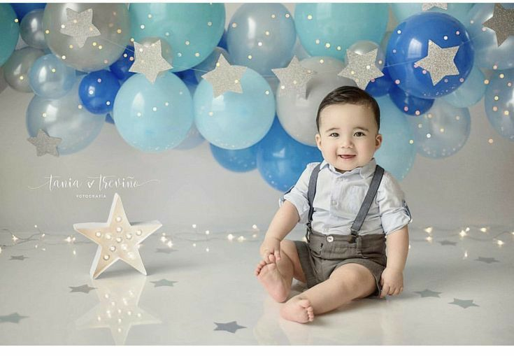 Unique Baby Photography Themes And Ideas Smash Cake Boy Cake Smash Theme Birthday Balloons Pictures