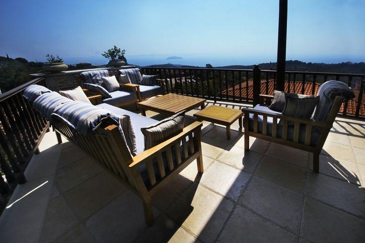 Epic Seaview StoneVilla, Parthenonas | Feels Like Home