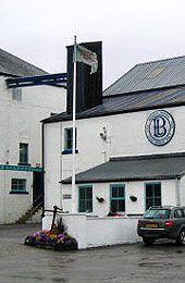 Bruichladdich - Skotsko, ostrov Islay