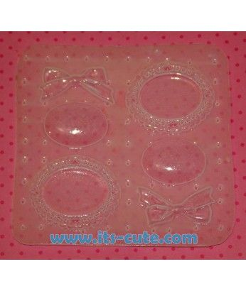 Cameo & Bow Pallet Resin Mold!