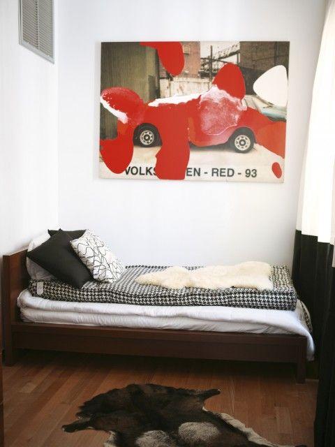 jongenskamer rood grijsModern Eclectic, Boy Bedrooms, Boys Bedrooms, 6Th Design 15, Eclectic Boys, Biancheria, Magazines, Eclectic Kids Room, Aston Martin