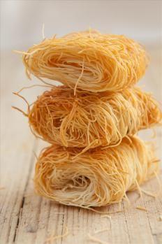pasta kataifi: la ricetta per prepararla