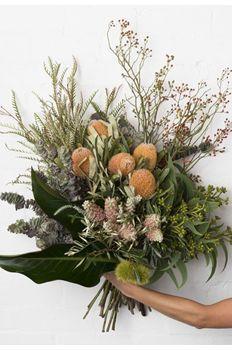 banksia native bush arrangement