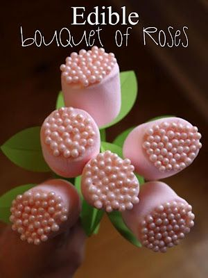 Edible Roses-So easy and so cute-Make a bouquet of this edible flower!