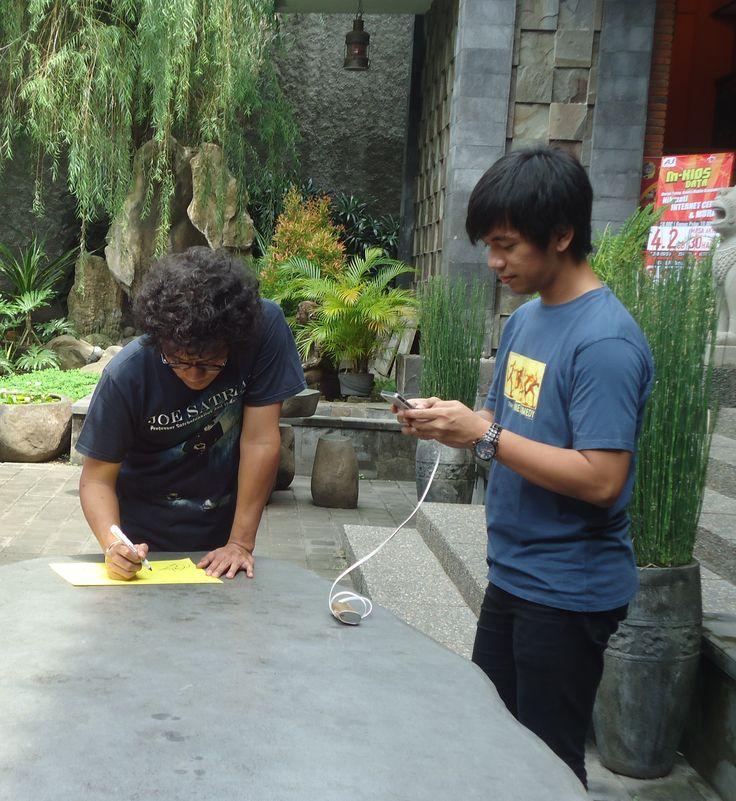 personil d'massiv @Tiga Dapoer Batavia Tulungagung