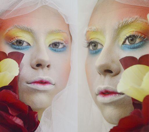 MUA: Anna Pro-Visage Creative makeup