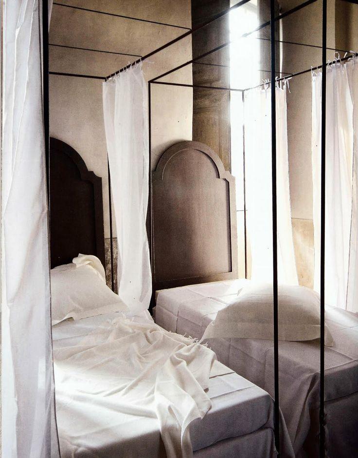 ✕ On Haute Design by Sarah Klassen: Coté Bastide / #france #interior #chambre